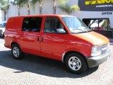 2005 Red Chevrolet Astro Cargo Van #36621978