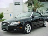 2008 Brilliant Black Audi A4 2.0T Cabriolet #353882