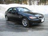 2008 Jet Black BMW 3 Series 328xi Sedan #3665235
