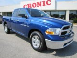 2011 Deep Water Blue Pearl Dodge Ram 1500 SLT Quad Cab #36622427