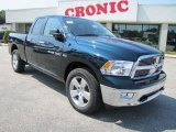 2011 Hunter Green Pearl Dodge Ram 1500 Big Horn Quad Cab 4x4 #36622428