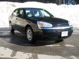 2005 Black Chevrolet Malibu Sedan #3664835