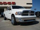 2011 Bright White Dodge Ram 1500 Big Horn Crew Cab #36622842