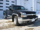 2005 Black Chevrolet Silverado 1500 Z71 Regular Cab 4x4 #3665163