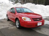 2007 Victory Red Chevrolet Cobalt LS Coupe #3665248