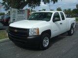 2011 Summit White Chevrolet Silverado 1500 Extended Cab 4x4 #36622136