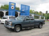 2006 Blue Granite Metallic Chevrolet Silverado 1500 LT Extended Cab 4x4 #36622146