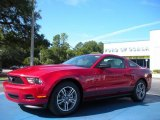 2011 Red Candy Metallic Ford Mustang V6 Premium Coupe #36622178
