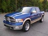 2011 Deep Water Blue Pearl Dodge Ram 1500 Laramie Crew Cab 4x4 #36623000