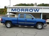 2003 Arrival Blue Metallic Chevrolet Silverado 1500 LS Extended Cab 4x4 #36622203