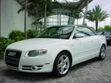 2008 Ibis White Audi A4 2.0T Cabriolet #353880