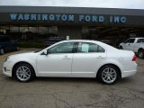 2010 White Platinum Tri-coat Metallic Ford Fusion SEL V6 #36622623
