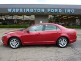 2010 Red Candy Metallic Ford Fusion SEL V6 #36622624