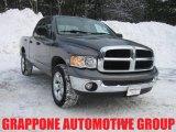 2005 Mineral Gray Metallic Dodge Ram 1500 SLT Quad Cab 4x4 #3664825