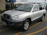 2004 Pewter Hyundai Santa Fe GLS 4WD #36712342