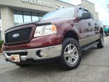 2006 Dark Toreador Red Metallic Ford F150 XLT SuperCrew 4x4 #36711740