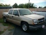 2005 Sandstone Metallic Chevrolet Silverado 1500 LS Crew Cab #36712106