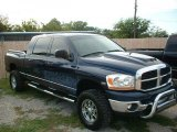 2006 Patriot Blue Pearl Dodge Ram 1500 SLT Mega Cab 4x4 #36712115