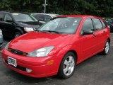 2003 Infra-Red Ford Focus ZX5 Hatchback #36712357