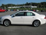 2011 White Platinum Tri-Coat Ford Fusion SEL V6 #36751017