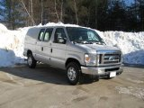 2008 Silver Metallic Ford E Series Van E350 Super Duty Commericial #3664791