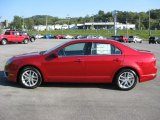 2011 Red Candy Metallic Ford Fusion SEL #36751011