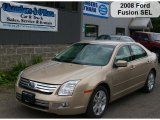 2008 Dune Pearl Metallic Ford Fusion SEL V6 #36751106