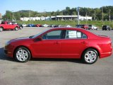 2011 Red Candy Metallic Ford Fusion SE V6 #36751016