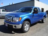 2010 Blue Flame Metallic Ford F150 XLT SuperCab 4x4 #36767144