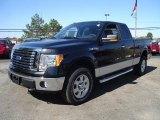 2010 Tuxedo Black Ford F150 XLT SuperCrew 4x4 #36767147
