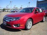 2011 Red Candy Metallic Ford Fusion SEL #36767150