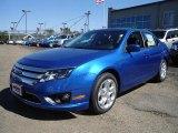 2011 Blue Flame Metallic Ford Fusion SE #36767151