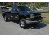 Black Chevrolet Silverado 2500HD in 2004