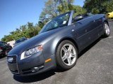 Quartz Grey Metallic Audi A4 in 2008