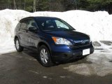 2009 Royal Blue Pearl Honda CR-V EX 4WD #3665309