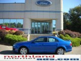 2011 Blue Flame Metallic Ford Fusion SE #36767049