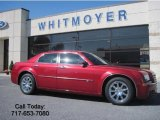 2008 Inferno Red Crystal Pearl Chrysler 300 C HEMI #36767506