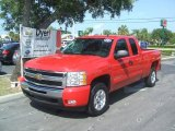 2011 Victory Red Chevrolet Silverado 1500 LT Extended Cab #36767135