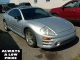 2003 Sterling Silver Metallic Mitsubishi Eclipse GTS Coupe #36816845