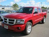 2010 Inferno Red Crystal Pearl Dodge Dakota Big Horn Crew Cab 4x4 #36817369