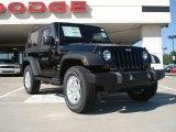 2011 Black Jeep Wrangler Sport S 4x4 #36817194