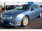 2010 Sport Blue Metallic Ford Fusion SEL #36817393