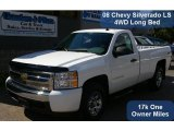 2008 Summit White Chevrolet Silverado 1500 LS Regular Cab 4x4 #36817074