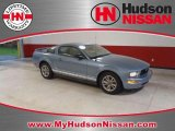 2005 Windveil Blue Metallic Ford Mustang V6 Deluxe Coupe #36838157