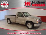 2005 Silver Birch Metallic Chevrolet Silverado 1500 Regular Cab #36838263