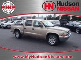 2004 Light Almond Pearl Metallic Dodge Dakota SLT Quad Cab #36838198
