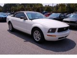 2006 Performance White Ford Mustang V6 Deluxe Convertible #36856783