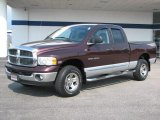 2004 Deep Molten Red Pearl Dodge Ram 1500 Laramie Quad Cab 4x4 #36856837