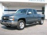 2007 Blue Granite Metallic Chevrolet Silverado 1500 Classic Z71 Extended Cab 4x4 #36856844