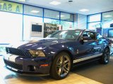 2011 Kona Blue Metallic Ford Mustang Shelby GT500 Coupe #36856483